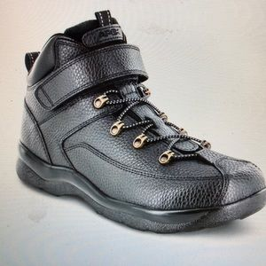 APEX Men's black leather hiking boots size 9.5 M